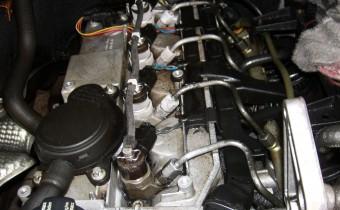 Motor-Reinigung
